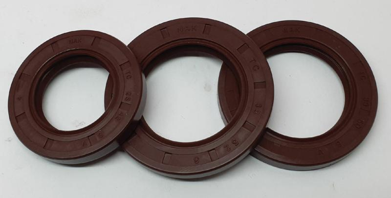 Nak Crankshaft Seal Set Viton Small Mag, Large Mag And Drive Side Seals